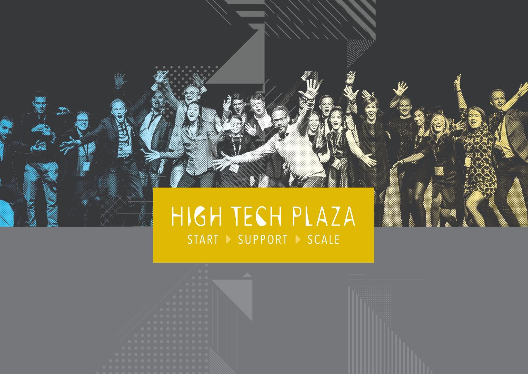 high tech plaza logo header