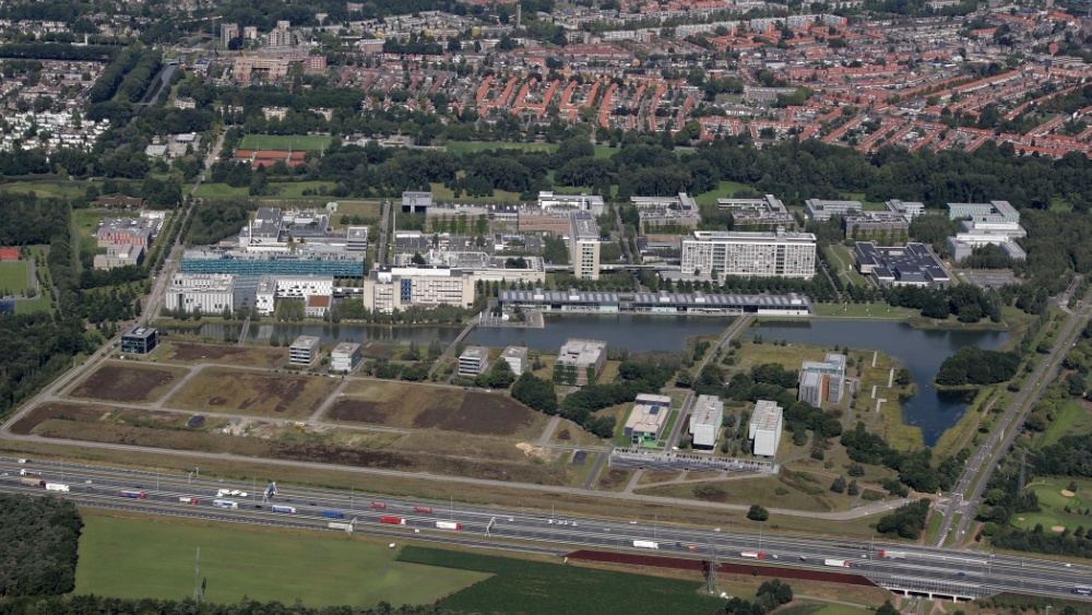 Aerial photo High Tech Campus Eindhoven.