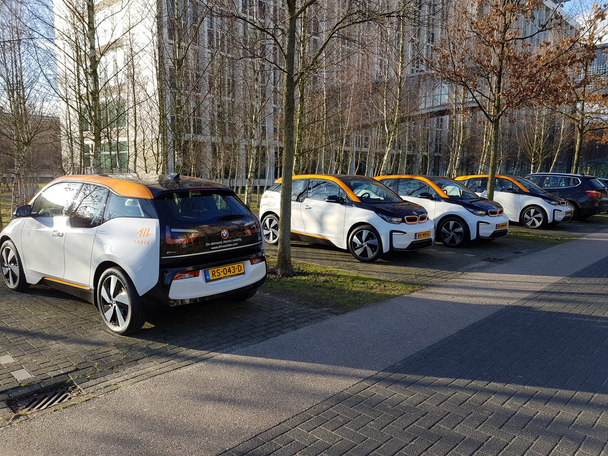 Province of Brabant to use Amber's shared cars