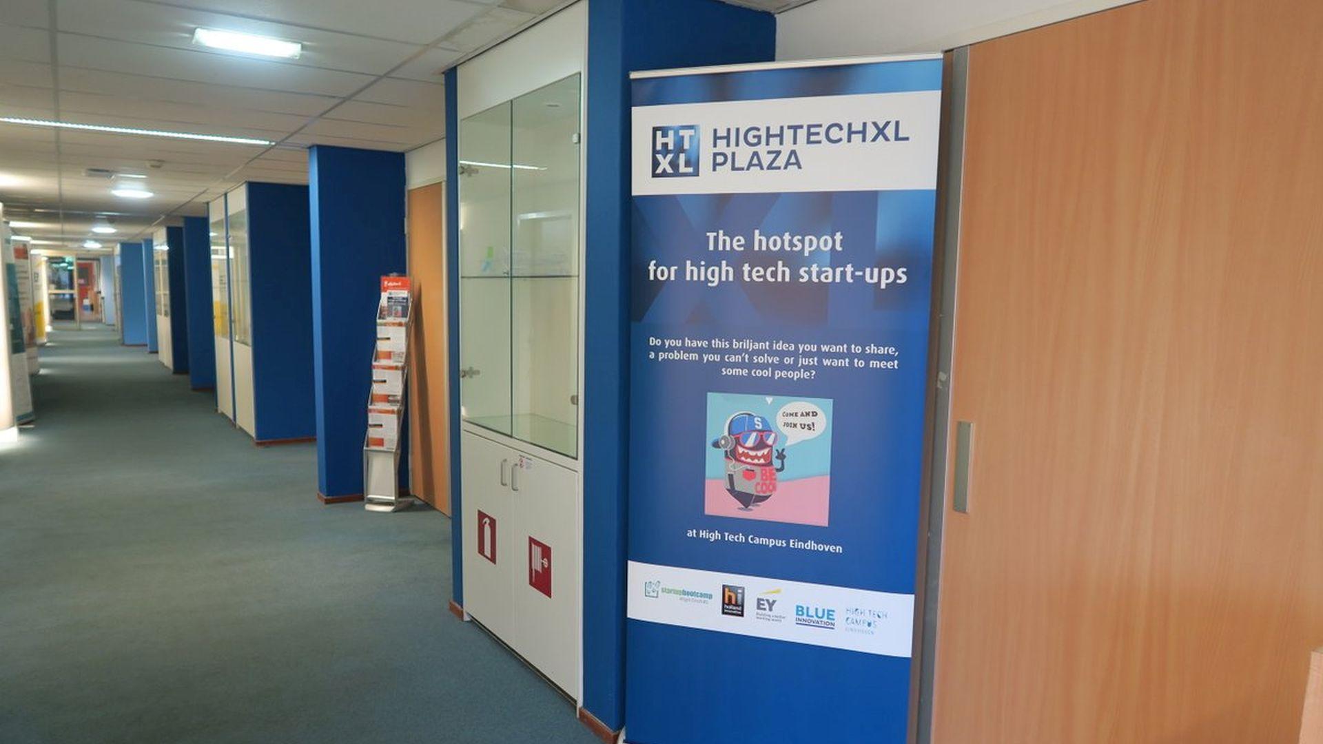 Hallway HTC12 HighTechXL Plaza HTC 12 High Tech Campus Eindhoven