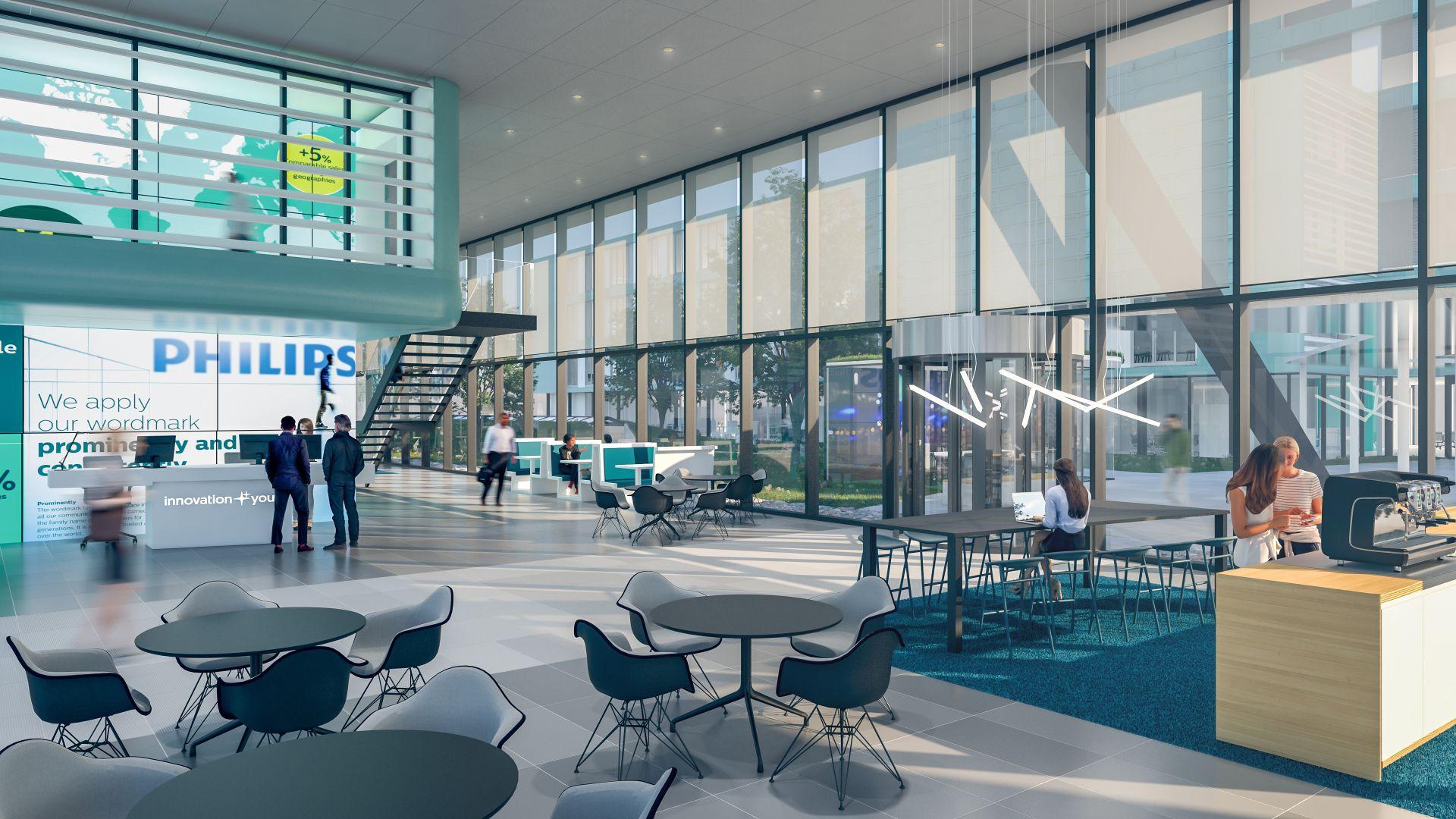 Hoofdkantoor Philips Benelux in Eindhoven van Boschdijk naar High Tech Campus Eindhoven