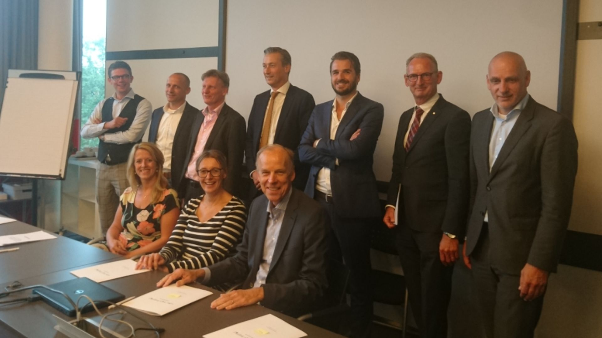 Campus en toeleveranciers tekenen samenwerking