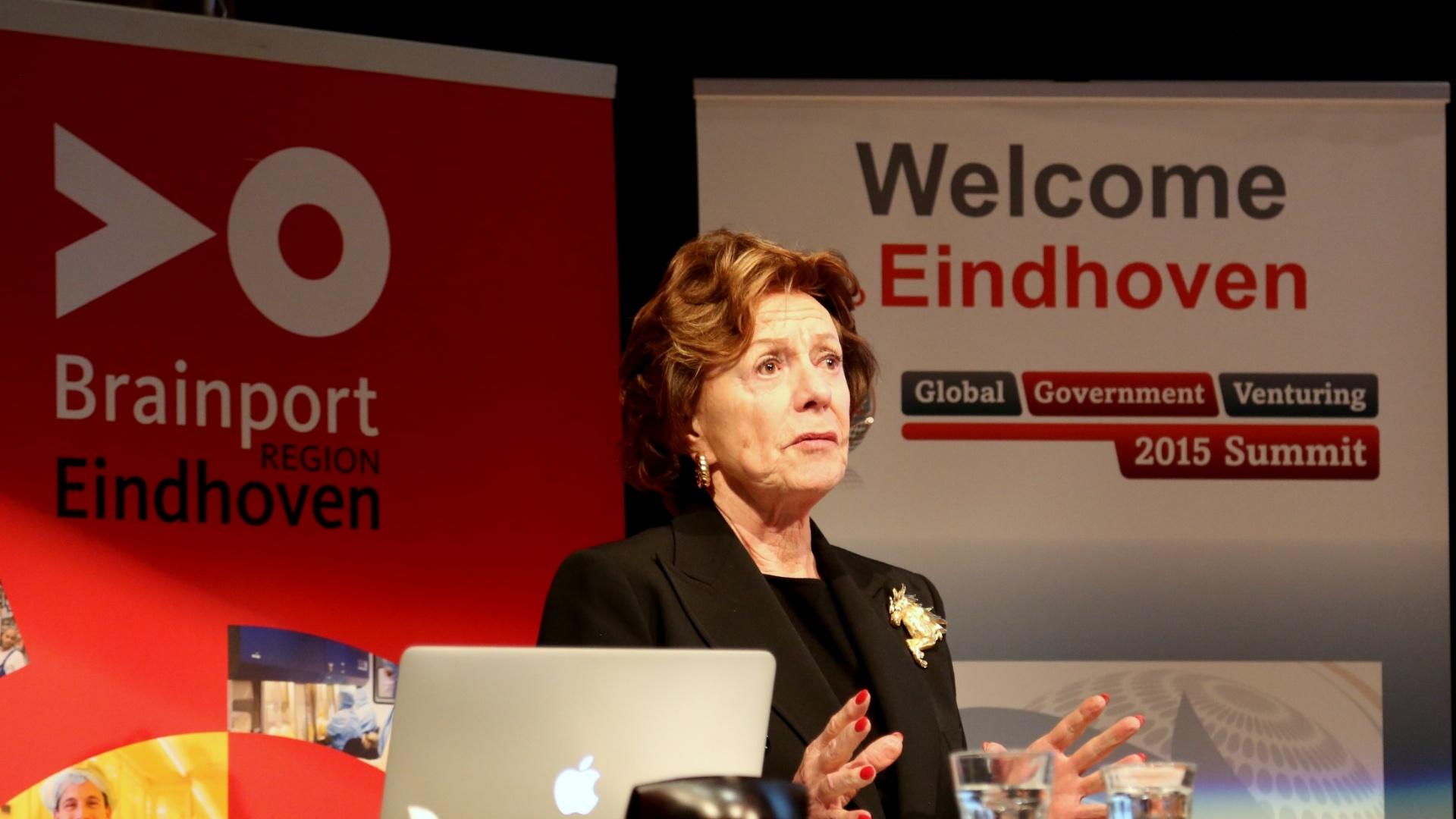 Neelie Kroes, Special Envoy StartupDelta