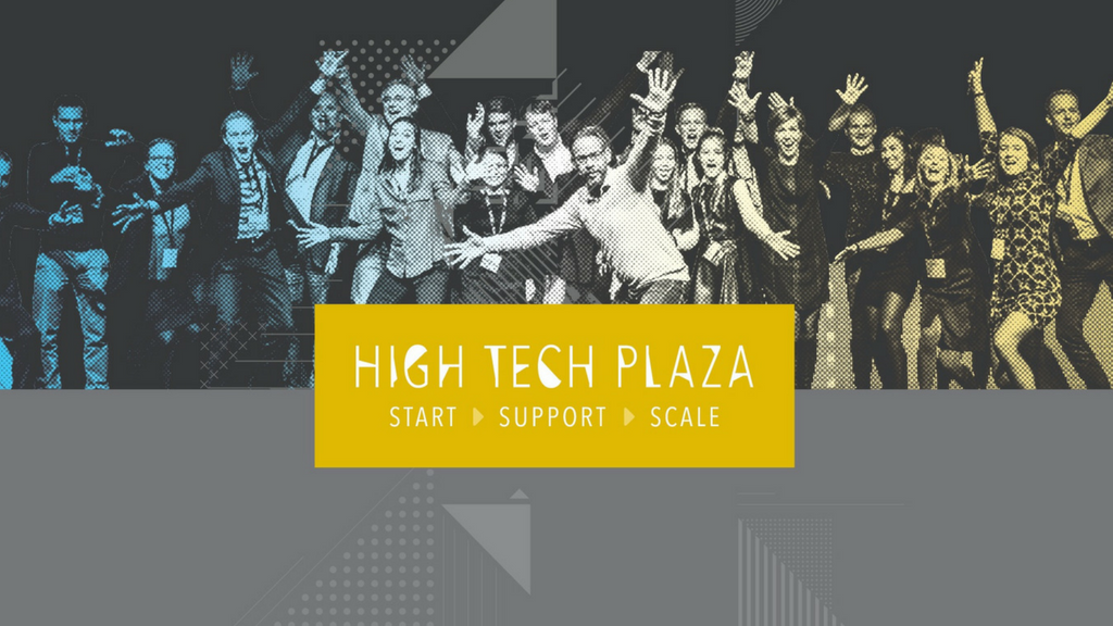 This is High Tech Plaza - our brand new startup hub