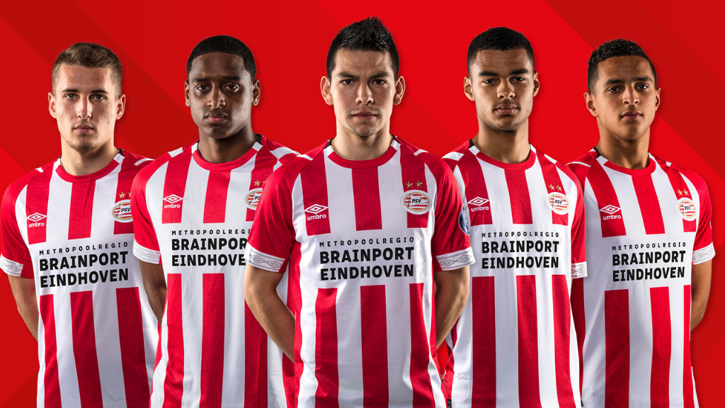 Big Dutch companies and PSV team up a partnership to promote Brainport Eindhoven