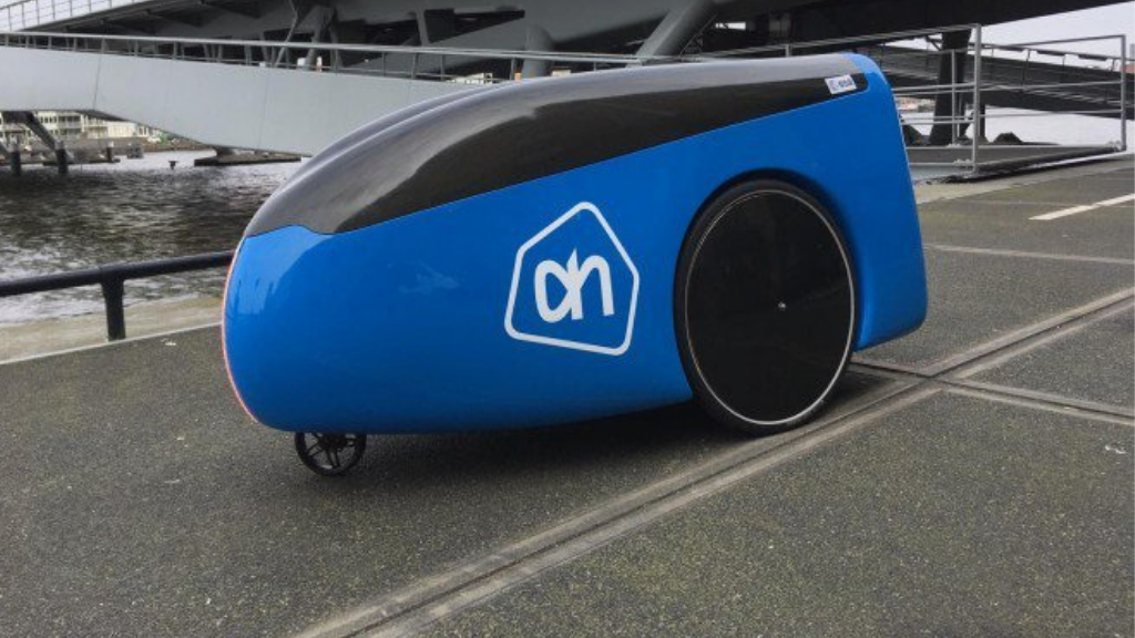 Albert Heijn to start autonomous food delivery service at High Tech Campus Eindhoven