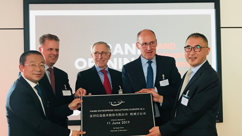 Opening HAND Enterprise Solutions Europe at High Tech Campus Eindhoven