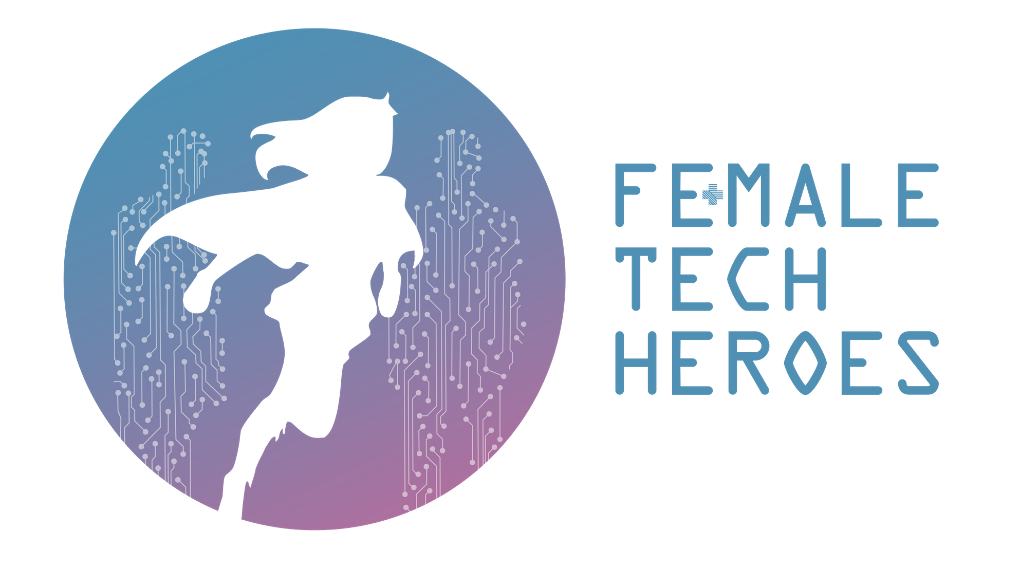 Female Tech Heroes launches a less feminine logo: 'We need to create diversity together'
