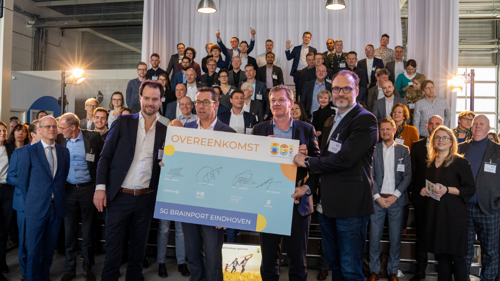 TMC voegt hightechindustrie kennis toe aan 5G Hub op High Tech Campus