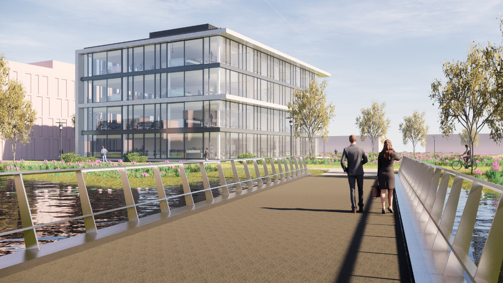 High Tech Campus breidt aanbod uit: 'Duurzame nieuwbouw aan het water'