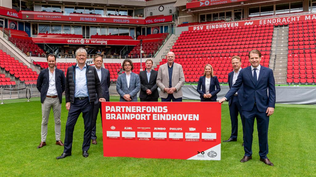 Brainport-Partners & PSV richten Partnerfonds Brainport Eindhoven op