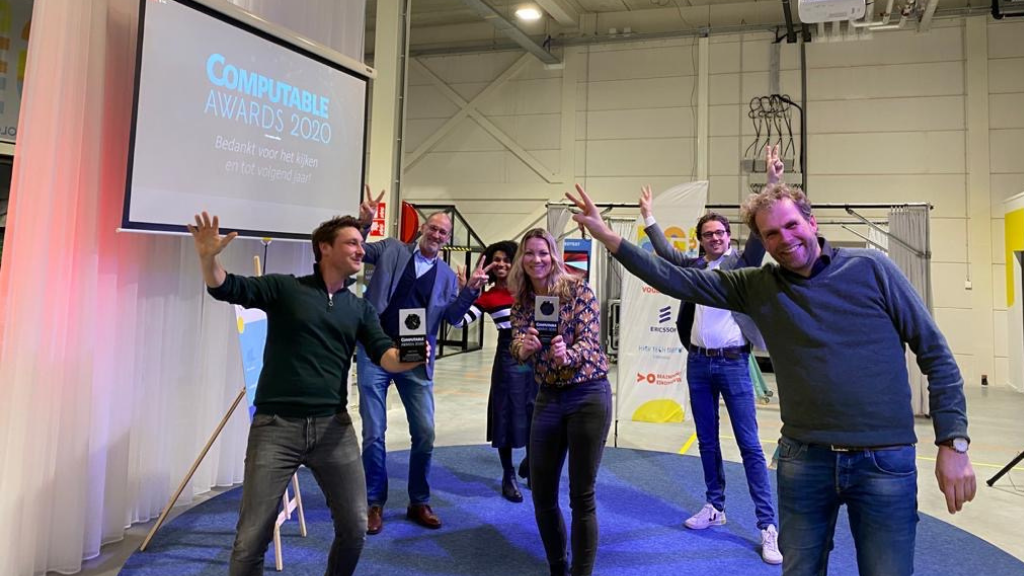 5G Hub Eindhoven wins two awards at Computable Awards 2020