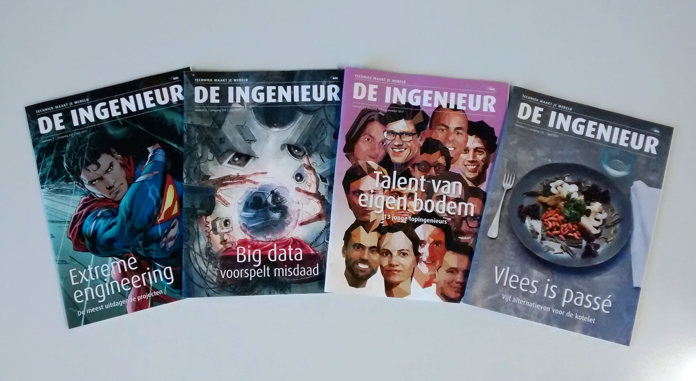 "Tech-magazine ""De Ingenieur"" by the Royal Netherlands Society of Engineers (KIVI)"